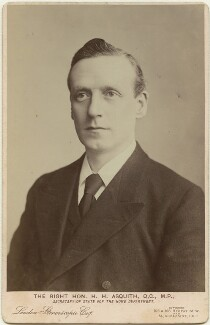 Herbert Henry Asquith, 1st Earl of Oxford and Asquith, by London Stereoscopic & Photographic Company - NPG x12547