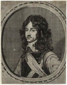 King Charles II, by Richard Gaywood, after  Adriaen Hanneman - NPG D28650
