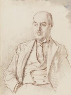 Sir (Arthur) Beverley Baxter, by Robin Craig Guthrie - NPG 6504