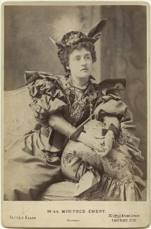 Winifred Emery, by Alfred Ellis - NPG x21258