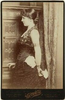 Lillie Langtry, by Henry Van der Weyde, 1881 - NPG x45211 - © National Portrait Gallery, London