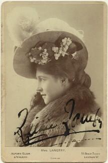 Lillie Langtry, by Alexander Corbett, for  Alfred Ellis & Walery - NPG x26373