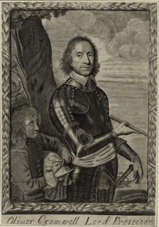 Oliver Cromwell, after Robert Walker - NPG D28682