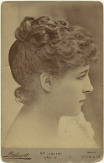 Lillie Langtry as Pauline in 'The Lady of Lyons', by Lafayette - NPG x76410