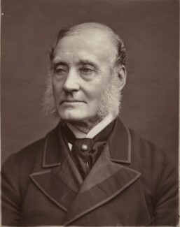 Sir (John) Rutherford Alcock, by Lock & Whitfield - NPG x27