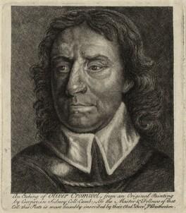 Oliver Cromwell, by James Bretherton, after  Samuel Cooper - NPG D28712