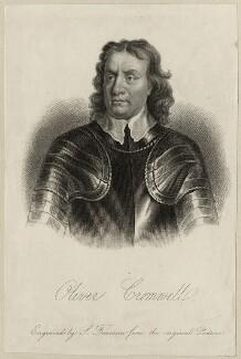 Oliver Cromwell, by Samuel Freeman, after  Samuel Cooper - NPG D28719