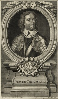 Oliver Cromwell, by Robert Sheppard, after  Samuel Cooper - NPG D28720