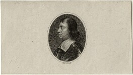 Oliver Cromwell, by William Holl Sr, after  Samuel Cooper - NPG D28724