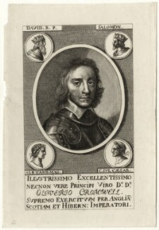 Oliver Cromwell, after Robert Walker - NPG D28731