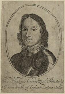 Oliver Cromwell, after Robert Walker - NPG D28736