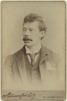 Sir Arthur Thomas Quiller-Couch, by London Stereoscopic & Photographic Company - NPG x12781