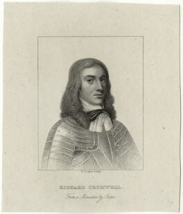 Richard Cromwell, by R. Cooper - NPG D28743