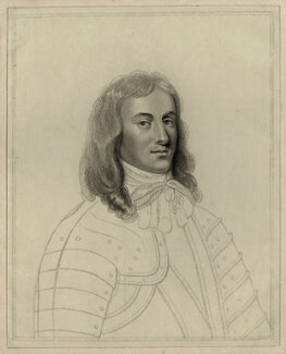 Richard Cromwell, by William Nelson Gardiner, after  Silvester (Sylvester) Harding, after  Samuel Cooper - NPG D28746
