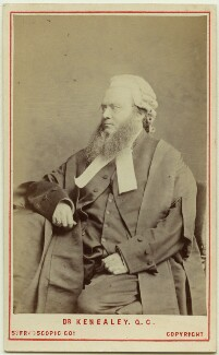 Edward Vaughan Hyde Kenealy, by London Stereoscopic & Photographic Company, circa 1873 - NPG Ax28437 - © National Portrait Gallery, London