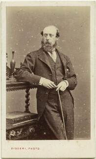 Hon. Alexander Temple FitzMaurice, by Disdéri - NPG Ax77194
