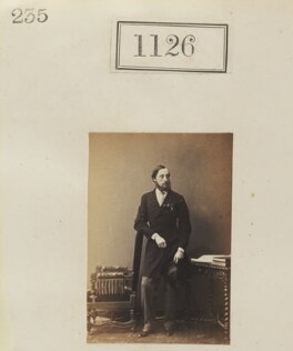 Hon. Walter Harbord, by Camille Silvy - NPG Ax50607