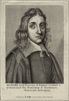 Richard Cromwell, published by Thomas Rodd the Elder - NPG D28752