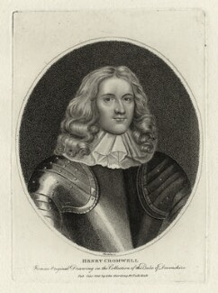 Henry Cromwell, by and published by Edward Harding - NPG D28754