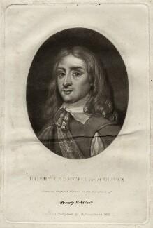 Henry Cromwell, by Richard Earlom, published by  Samuel Woodburn - NPG D28757