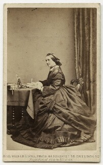 (Mary) Elizabeth (née à Court Repington), Lady Herbert of Lea, by William Walker & Sons - NPG x18441