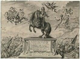 William Cavendish, 1st Duke of Newcastle-upon-Tyne, by Peter van Lisebetten (Lysebetten, Liesebetten), after  Abraham Diepenbeeck - NPG D28774