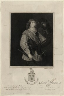 Nathaniel Fiennes, probably by Thomas Anthony Dean, published by  John Samuel Murray - NPG D28761