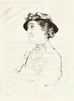 Dame Margery Irene Corbett-Ashby, by Edmond Xavier Kapp - NPG D32478
