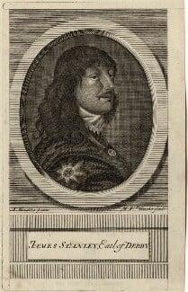 James Stanley, 7th Earl of Derby, by Michael Vandergucht, after  Sir Anthony van Dyck - NPG D28771