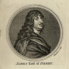 James Stanley, 7th Earl of Derby, by Thomas Chambers (Chambars), after  Sir Anthony van Dyck - NPG D28772