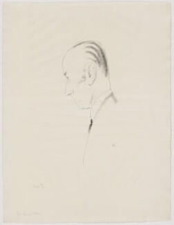 Samuel John Gurney Hoare, Viscount Templewood, by Edmond Xavier Kapp, 1933-1936 - NPG D32480 - © estate of Edmond Xavier Kapp