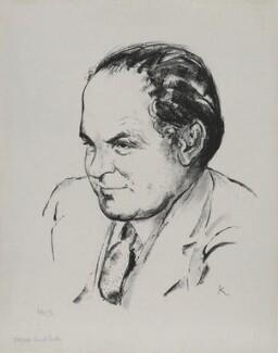 Sir Harold Beresford Butler, by Edmond Xavier Kapp - NPG D32486