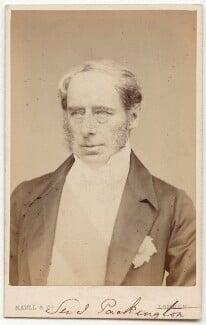 John Somerset Pakington, 1st Baron Hampton, by Maull & Co, published by  Richard Smith, circa late 1860s - NPG x45086 - © National Portrait Gallery, London