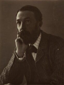 John Addington Symonds, by Eveleen Myers (née Tennant) - NPG x19819