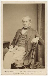John Somerset Pakington, 1st Baron Hampton, by William Walker & Sons, 1864 - NPG x17338 - © National Portrait Gallery, London