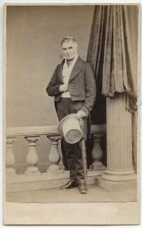 Joseph Warner ('J.W.') Henley, by Hills & Saunders - NPG x15593