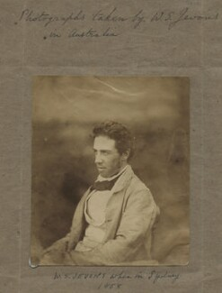 William Stanley Jevons, by William Stanley Jevons - NPG x18875