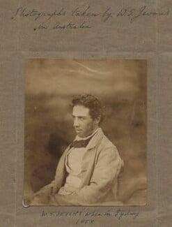 William Stanley Jevons, by William Stanley Jevons - NPG x18875