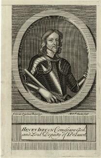 Henry Ireton, by Michael Vandergucht, 1713 - NPG D28784 - © National Portrait Gallery, London