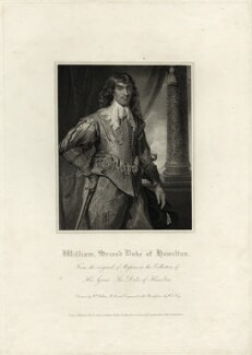 William Hamilton, 2nd Duke of Hamilton, by William Thomas Fry, published by  Lackington, Hughes, Harding, Mavor & Jones, published by  Longman, Hurst, Rees, Orme & Brown, after  William Hilton, after  Daniel Mytens - NPG D28797