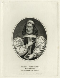 John Gauden, by Yates, published by  Edward Evans - NPG D28813