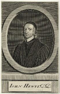 John Hewit (Hewett), by Michael Vandergucht - NPG D28823