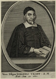 John Trapp, after Richard Gaywood - NPG D28833