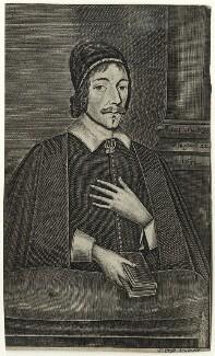 Christopher Love, by Thomas Cross, after  Cornelis Johnson Jr (Jonson van Ceulen) - NPG D28843