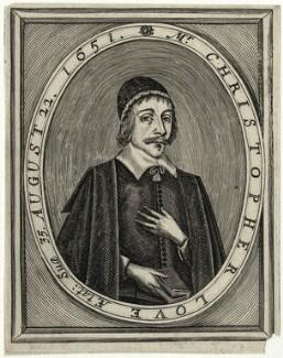 Christopher Love, probably after Cornelis Johnson Jr (Jonson van Ceulen) - NPG D28845