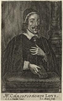 Christopher Love, by Jacob van Meurs, after  Cornelis Johnson Jr (Jonson van Ceulen) - NPG D28846