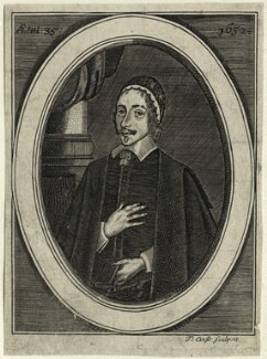 Christopher Love, by Thomas Cross, probably after  Cornelis Johnson Jr (Jonson van Ceulen) - NPG D28851