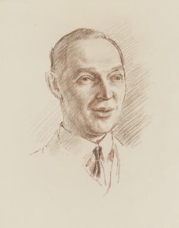 Sir Barry Vincent Jackson, by Robin Craig Guthrie - NPG 6510