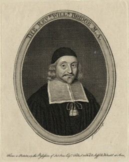 William Bridge, by James Caldwall - NPG D28855