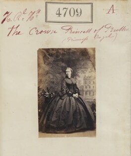 Victoria, Empress of Germany and Queen of Prussia, by Camille Silvy - NPG Ax54720
